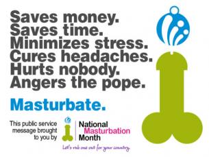 May is National Masturbation Month