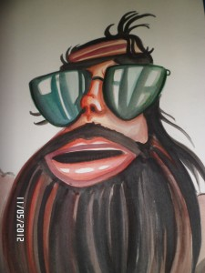 Caricatura de Dr. Pete Sake Cam4 by Majoprepcam