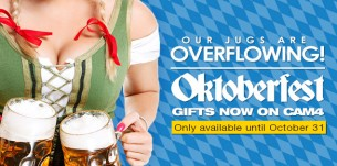 NEW Oktoberfest Gifts on Cam4!