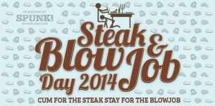Steak and Blow Job Day on CAM4