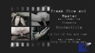 Freak7_7show and Special CAM4 Guests Hungandlola!