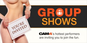 Group Shows now on CAM4!