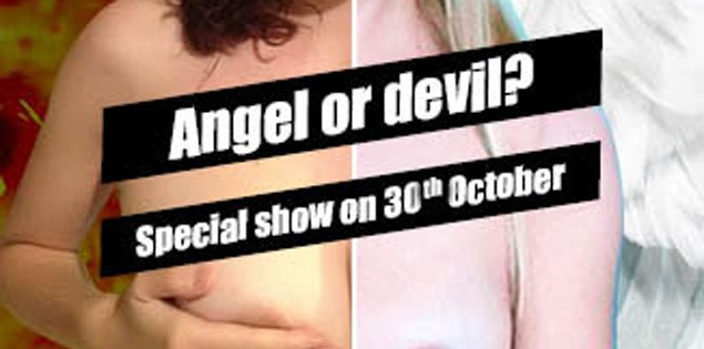 Angel or Devil? Foxy_C and DesireV Special!