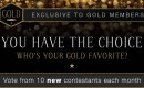 CAM4 Gold Party: Your Challengers for April