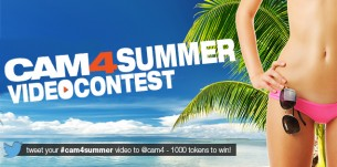 CAM4 Contest: Twitter Video Contest June 29th to July 5th