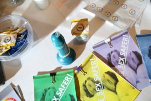 Condom That Changes Color When it Detects an STI!?