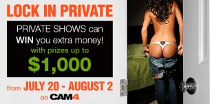 CAM4 Private Shows can win you Tokens! (SIGN UP)