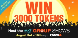 Group Shows on CAM4: Your Contest Winners!