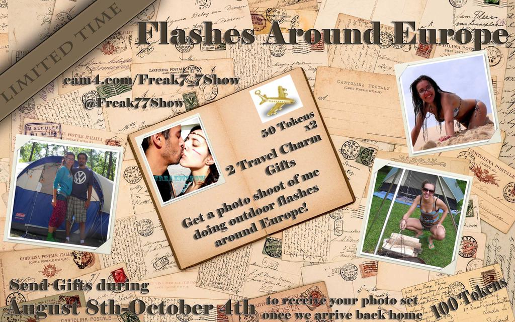 Freak7_7Show Does Europe: Get the Photos on CAM4!