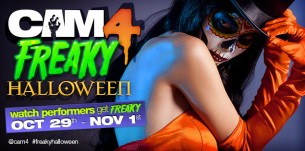 Halloween Themed Group Shows Contest on Cam4