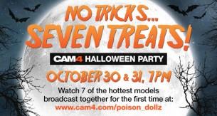 No tricks…Seven treats- Halloween Party