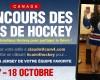 Concours des fans de Hockey !