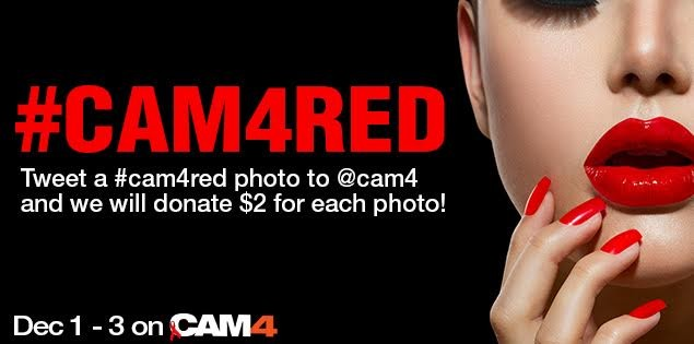 Be Sexy in Red: Tweet a #cam4red Photo