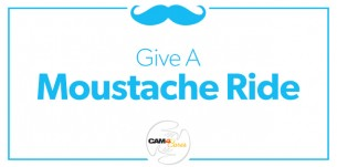 No Moustache? Support Movember with CAM4 Gifts!