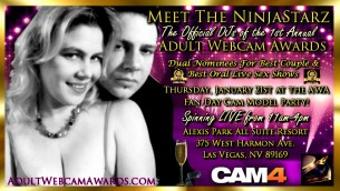 Meet NinjaStarz in Las Vegas at the Adult Webcam Awards