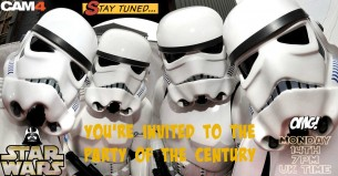 Star Wars Party of the Century on CAM4