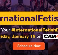 International Fetish Day on CAM4 with Stockroom!