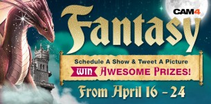 Join the CAM4 Fantasy Weekend Beginning April 16th