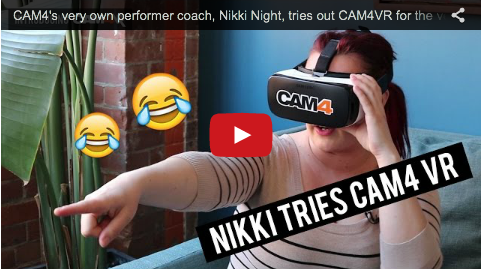 Watch Nikki Night Experience CAM4VR (VIDEO)