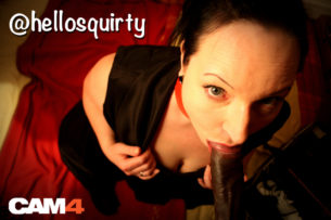 The First CAM4 Spotlight Performer is HelloSquirty!