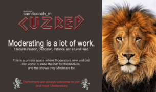NEW Moderator Coaching on CAM4 with CuzRed