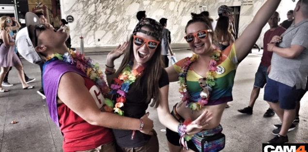 CAM4 does L.A. Pride (PHOTOS)