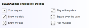 sexsexes-roll-the-dice