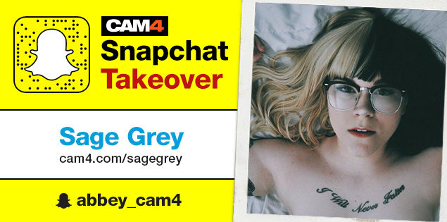 Sage Grey Snapchat Domination: August 31st