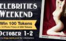 Celebrities Weekend: October 1 & 2
