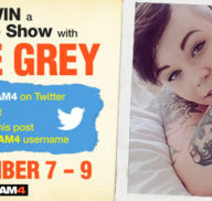 Win a Private Show with Sage Grey!