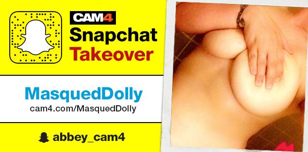 MasquedDolly Snapchat Takeover: September 23rd