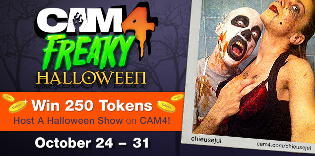 Freaky Halloween on CAM4: October 24th to 31st