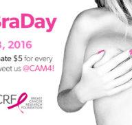 #NoBraDay Update: CAM4 Raises $585 for BCRF