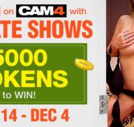 Winners of the CAM4 Private Shows (CONTEST)