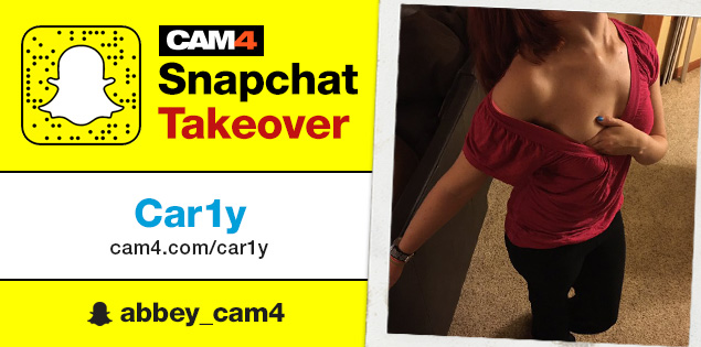 CAM4 Snapchat Takeover with Car1y