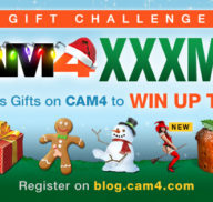 CAM4 XXXMas Gifting Challenge Winners (CONTEST)