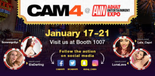 Join CAM4 at the Adult Entertainment Expo