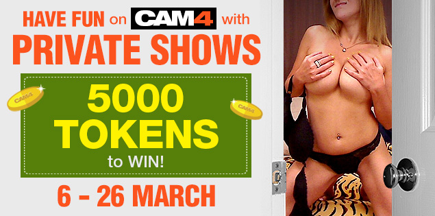 Join the Private Show Contest on CAM4