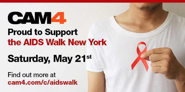 CAM4 Sponsors the AIDS Walk NY