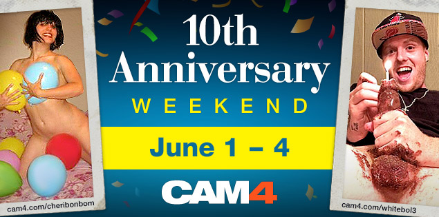 This Weekend is a Perfect10 on CAM4