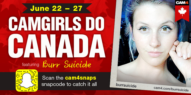 Camgirls do Canada with BurrSuicide