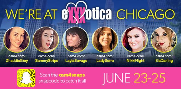 CAM4 does EXXXOTICA with Zhaddie Grey, Sammy Strips, Layla Savage & More