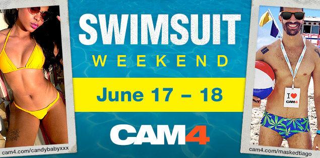 It's Bikini Weekend on CAM4!