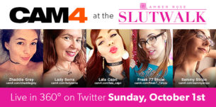 CAM4 is Proud to Sponsor the Amber Rose Slut Walk