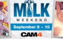 It's Milk Weekend on CAM4
