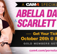Abella Danger & Scarlet Sage on CAM4