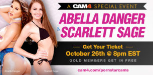 Abella Danger & Scarlet Sage on CAM4