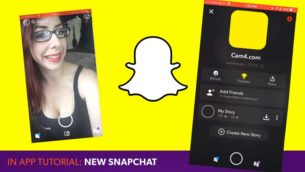CAM4 Tutorial: Snapchat Update