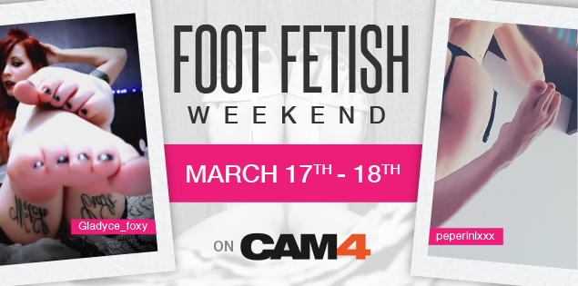 Watch Foot Fetish Shows on CAM4!