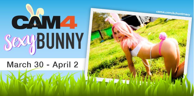 Spend your Easter Weekend on CAM4!